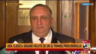 """Generalul Dumitru Iliescu, la ieșirea de la Comisia de Control SRI: """"DNA face la fel ca în multe"""