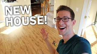NEW EMPTY HOUSE TOUR - JOSH BINDER (finally Moved In)