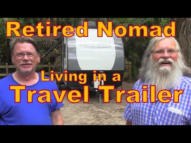 Meet Wayne, a Retired Nomad Living in a Travel Trailer