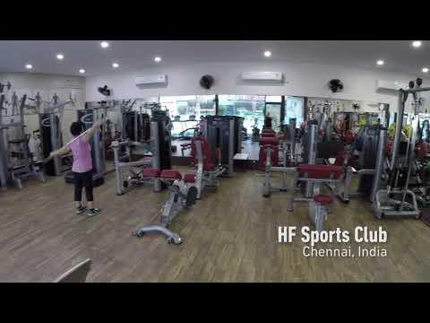 HF Sports Club - Chennai, India | BH Commercial Fitness