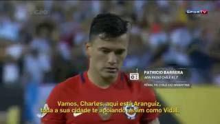 FABULOSO RELATO Patrício Berrera Penales Argentina 0 (2) vs 0 (4) Chile Final Copa América 2016