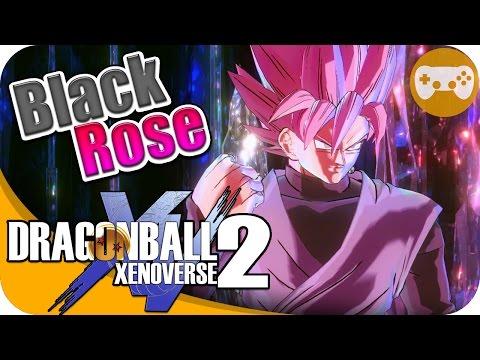 ROSA EL COLOR DE LA MALDAD BLACK ROSE DLC 3   DRAGON BALL XENOVERSE 2 EpsilonGamex DBXV