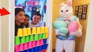 ألعاب في غرفة نومنا الأطفال التعليمية  البحث عن مفاجآت بيضة تحدي Heidi و Zidan