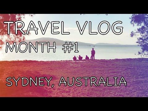 Travel vlog #1: Sydney Australia month #1