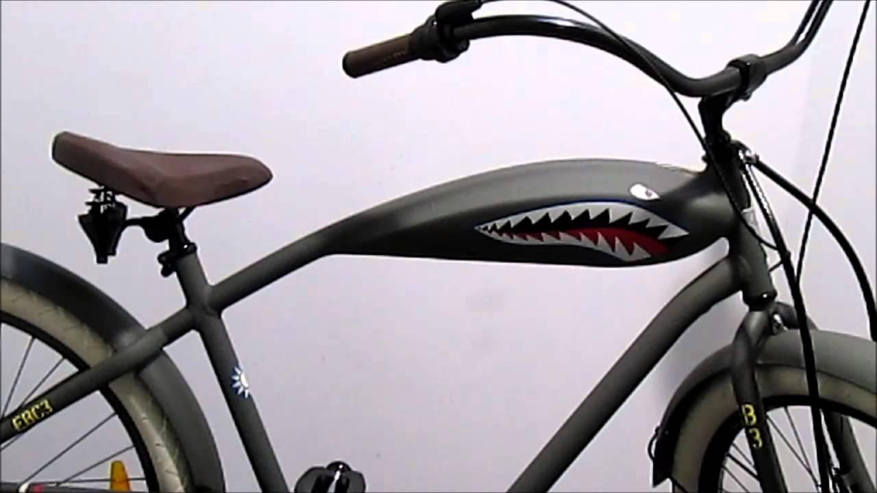 Cruiser Electra Tiger Shark Youtube