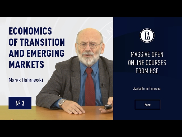 Economics of Transition and Emerging Markets: Attempts to reform CPE #3