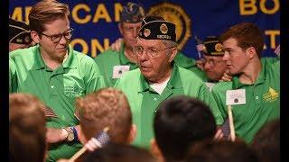 American Legion Boys Nation icon retires