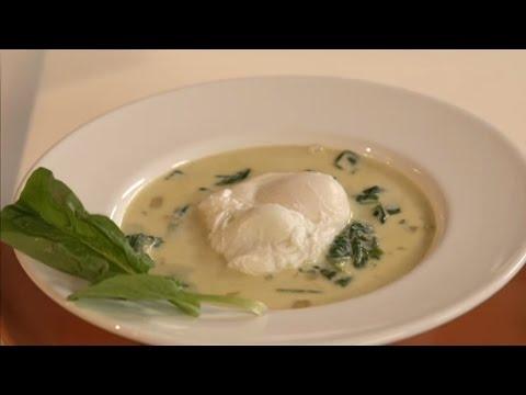 Суп с сулугуни