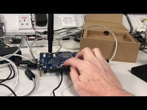 ATIS OS-IoT Library Running on the BG96 Cellular IoT Module