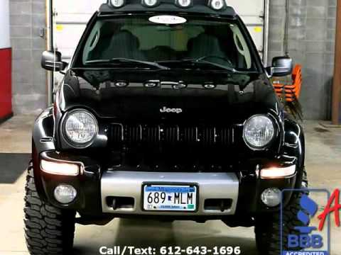2004 jeep liberty suv renegade 4wd 1 owner eden prairie. Black Bedroom Furniture Sets. Home Design Ideas