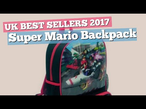 Super Mario Backpack Great Collection, Just For You! // UK Best Sellers 2017