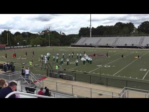 Hokes Bluff High School at the 50th Annual Midsouth Marching Band Festival - 2014