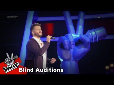 Αλέξης Πρεβενάς - Στην καρδιά | 11o Blind Audition | The Voice of Greece