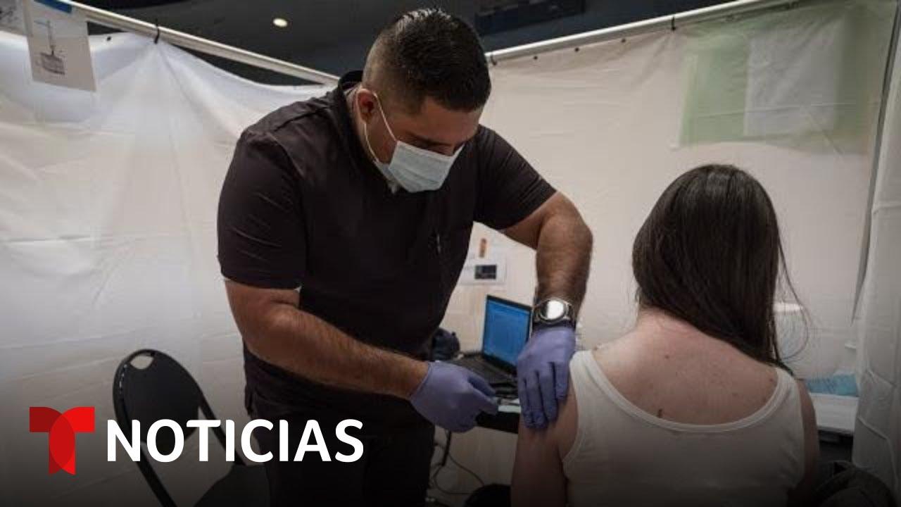 Aumentan los contagios y la resistencia a la vacunación en algunos estados | Noticias Telemundo