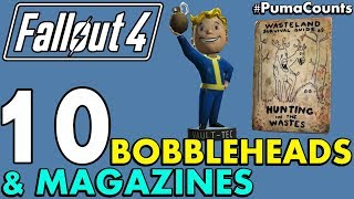 Top 10 Best Bobbleheads and Perk Magazines in Fallout 4 With Locations PumaCounts