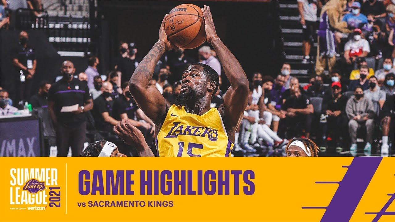 HIGHLIGHTS | Chaundee Brown Jr. (12 pts, 4 reb) vs Sacramento Kings | Lakers Summer
