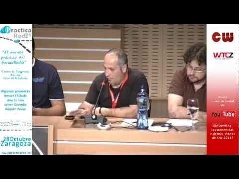 Mesa de Social Media Marketing en Congreso Web