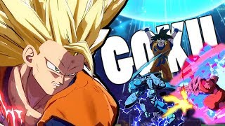 ALL GOKUS? NO PROBLEM! | Dragonball FighterZ Ranked Matches
