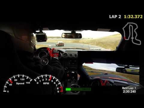 2016 Shelby GT350, Thunderhill Raceway - 3 Mile w/Cyclone - 2:09 (2016-10-15)