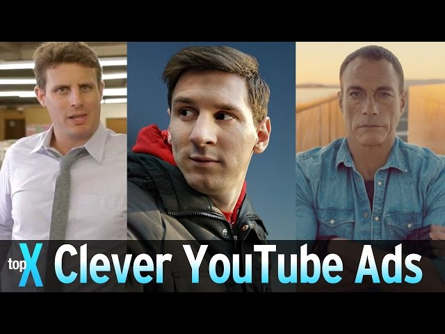Top 10 Clever YouTube Ads – TopX Ep. 38