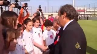 بلاتيني يستقيل من رئاسة الاتحاد الأوروبي لكرة القدم