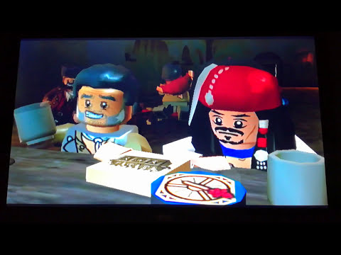 The lego pirates of the caribbean the video game #9 am not?? Lol  
