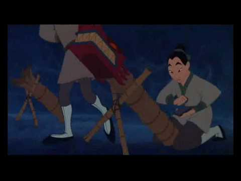 Mulan  ill make a man out of you