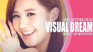 Visual Dreams - Girls' Generation (Line Distribution)