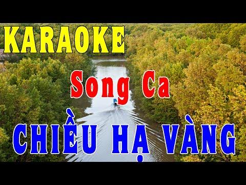 Chiều Hạ Vàng - Karaoke [Song Ca]