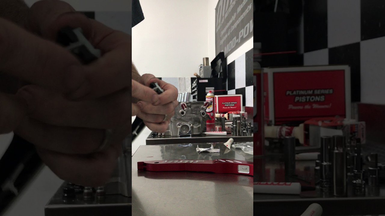 How to Install wear strips on MMR 5 0 Coyote Billet Chain Guides