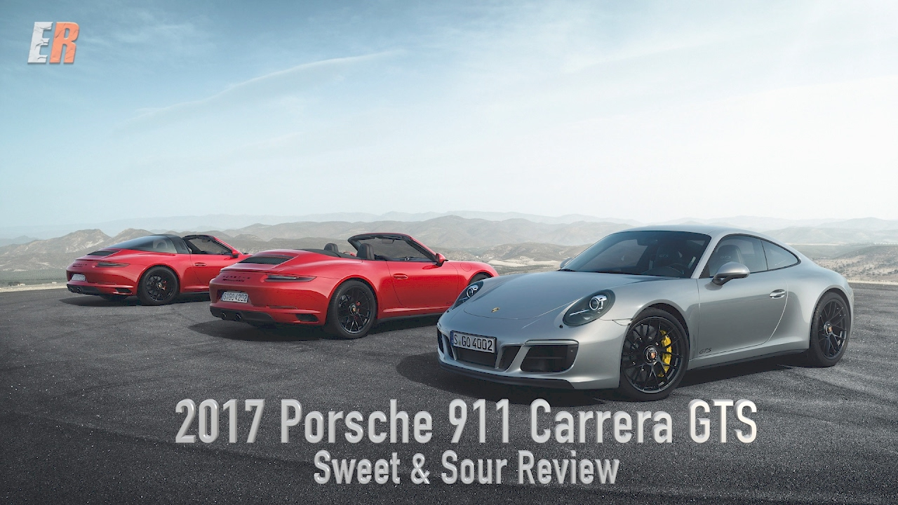 2017 Porsche 911 Carrera Gts On The Track Review Sweet Sour In