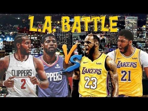 Битва за Лос-Анджелес Lakers Vs Clippers