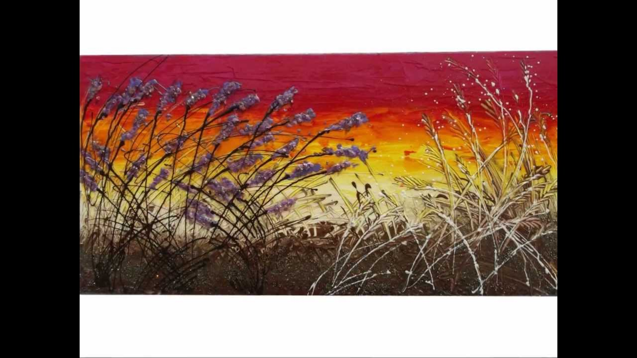 quadri moderni astratti dipinti a mano youtube