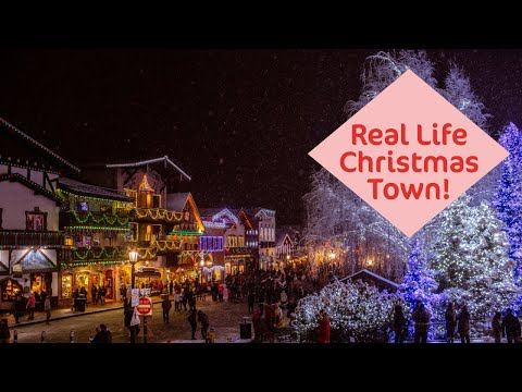 Leavenworth - A REAL LIFE Christmas Town!