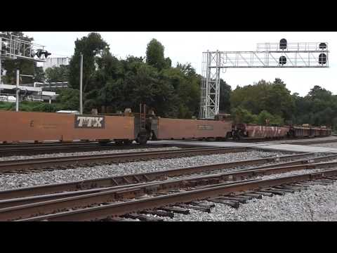 NORFOLK SOUTHERN TRAINS IN ATLANTA AND AUSTELL,GA.9-21-2015