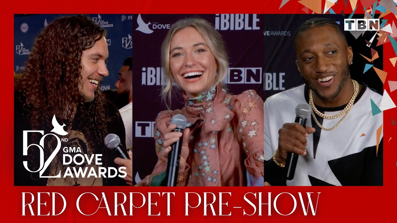 GMA Dove Awards 2021 Red Carpet PreShow  Lauren Daigle Brandon Lake Lecrae u0026 MORE  TBN