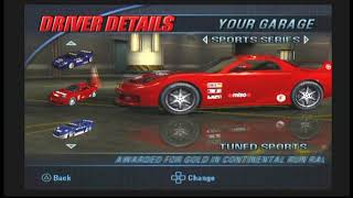 Burnout 3 Takedown All Cars