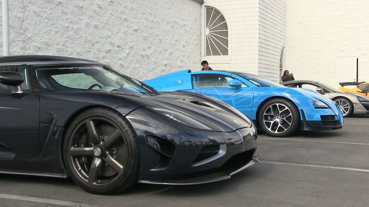 Orange County Supercars: Koenigsegg Agera R, Bugatti ...