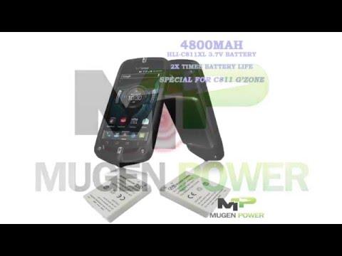 Mugen Power 4800mAh Extended Battery Casio G