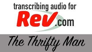 Video Transcribing Audio for Rev.com: What It's Like! download MP3, 3GP, MP4, WEBM, AVI, FLV Juli 2018