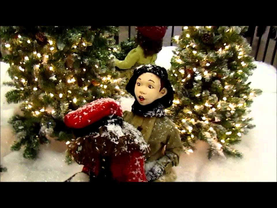 old christmas animatronics at the mall youtube - Animatronic Christmas Decorations