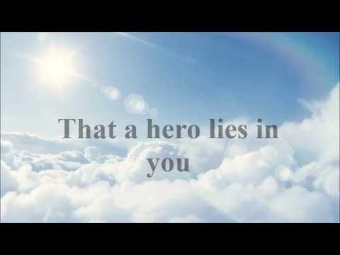 Hero - Mariah Carey w/lyrics