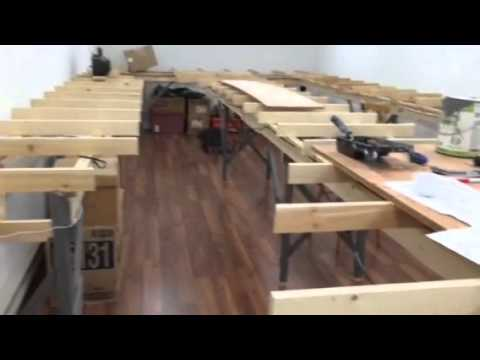 Algoma Central Railway HO scale layout Jan 2016 update