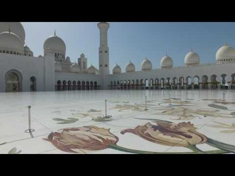 Sheikh Zayed Grand Mosque Abu Dhabi 4K