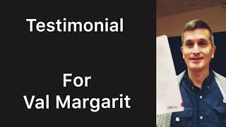 Testimonial for Dr. Val Margarit - Talks