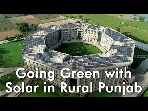 Going Green with Solar in Rural Punjab