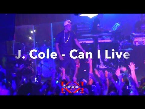 2/17 J Cole Warm Up Can I Live (Dollar & A Dream2 2014 NYC) (10pm Show)