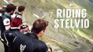 Riding Stelvio (Top Gear's greatest driving road in the world)