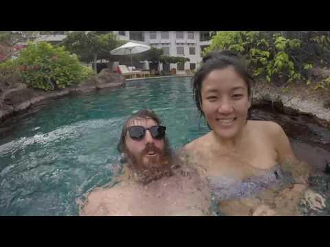 Tour of our Grand Hyatt Bali suite - Vlog #6