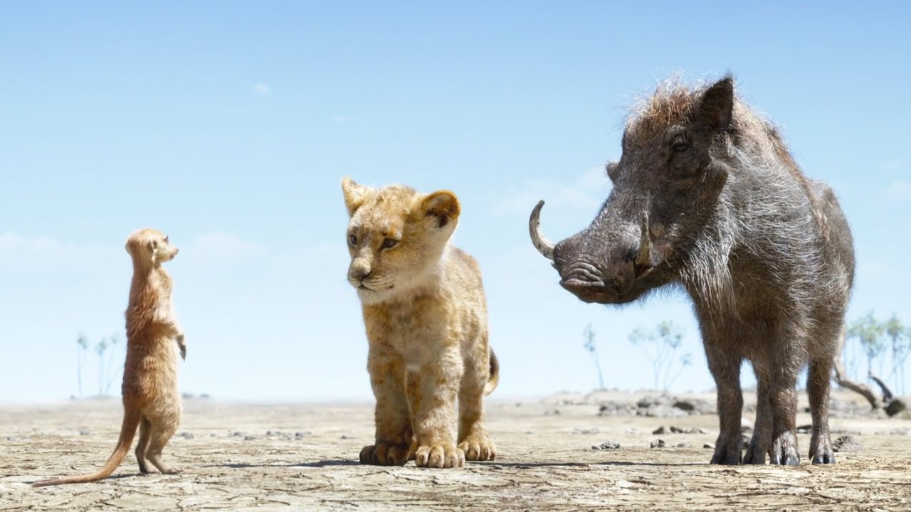 Download The Lion King 2019 - _ Simba // Timon and Pumbaa